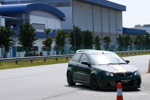 Proton Satria Neo Lotus Racing