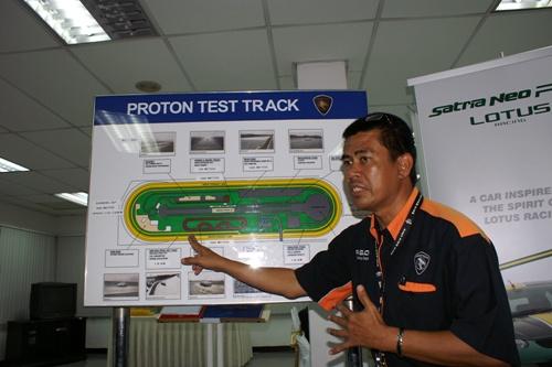 Proton Satria Neo R3 Lotus Racing