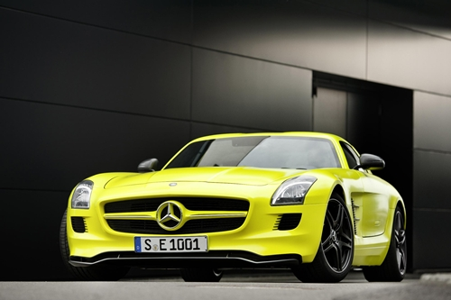 Mercedes SLS AMG E Cell005
