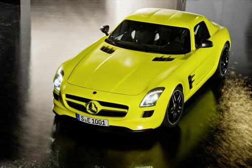 Mercedes SLS AMG E Cell007