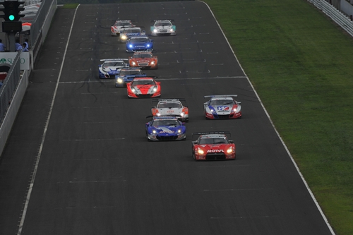 SuperGT Sugo 2010.01