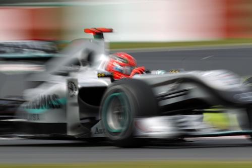 Mercedes GP Petronas Jepun 2010.01