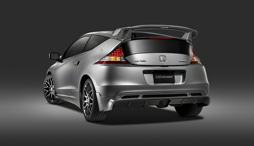 2011 Honda CR-Z Equipped with MUGEN Accessories
