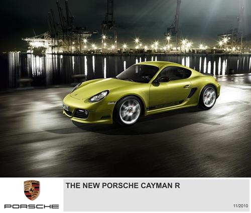 Porsche Cayman R.01
