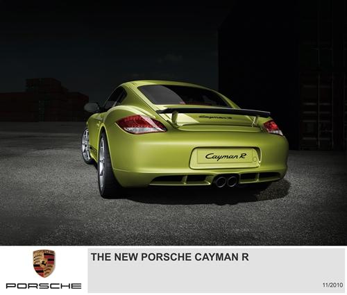Porsche Cayman R.03