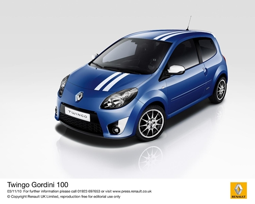 Renault Twingo Gordini 100.01