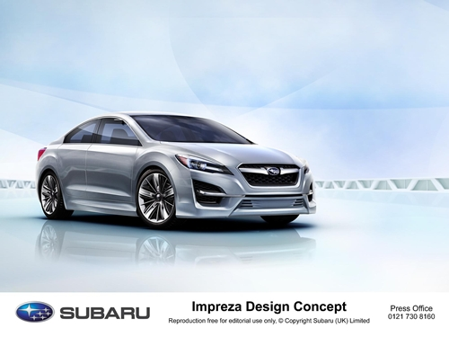 Subaru Impreza Design Concept.01