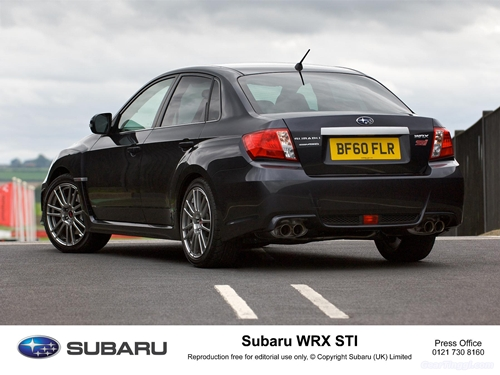 Subaru Impreza WRX STI 2011.09