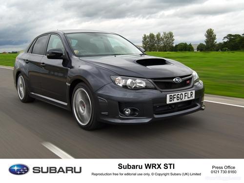 Subaru Impreza WRX STI 2011.10