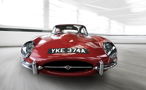 Jaguar E Type.01