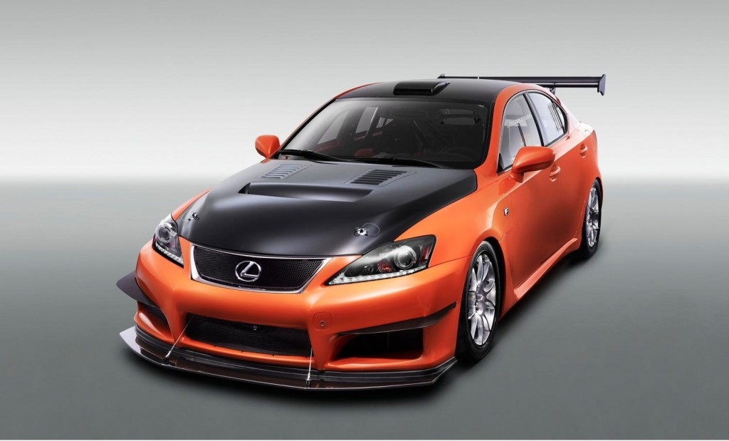 Lexus IS F Club Circuit Sports Racer