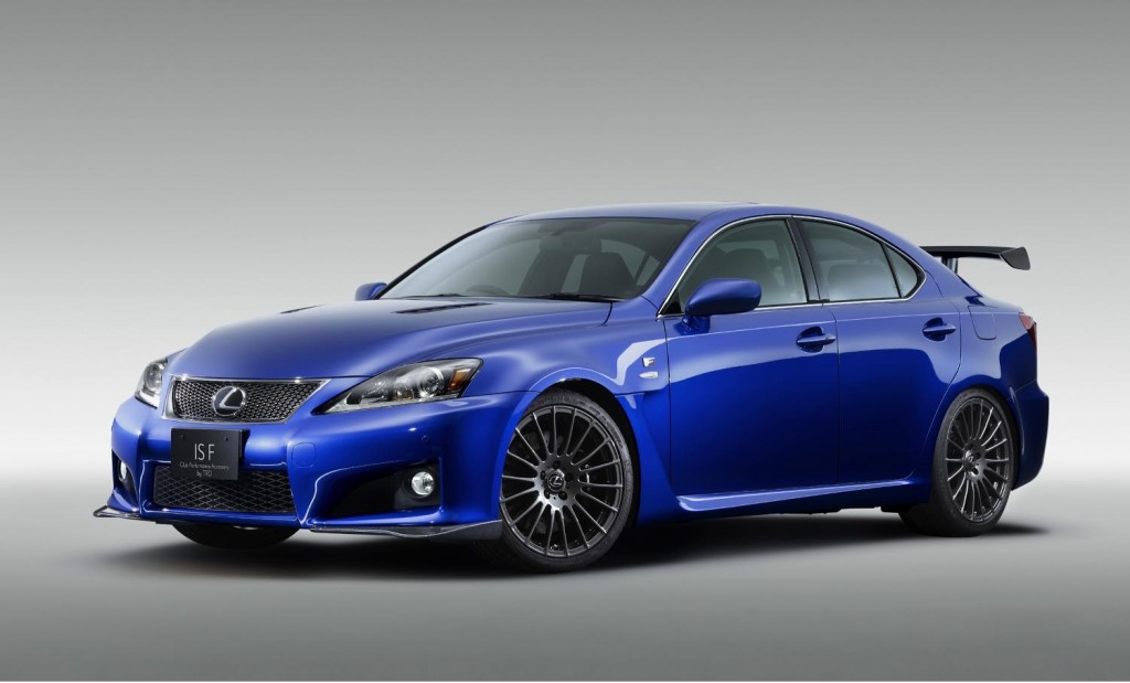 Lexus IS F Club Performance Accessory