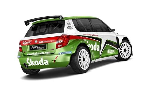 Skoda Fabia S2000 2011.01