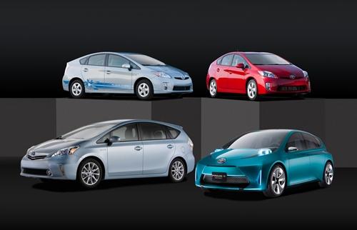 Toyota Prius Family 2011.01