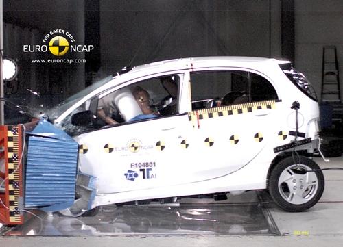 Mitsubishi i-MiEV Euro NCAP 2011.01