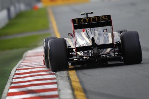 Lotus Renaul F1 Melbourne 2011.01