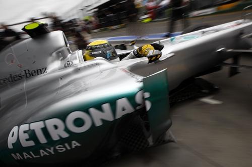 Mercedes GP Petronas Melbourne 2011.02