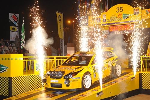 Proton Satria Neo S2000 IRC Spain 2011.01
