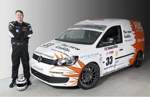 VW Caddy Racer 2011.03