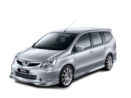 Nissan Grand Livina Tuned by Impul 2011.01