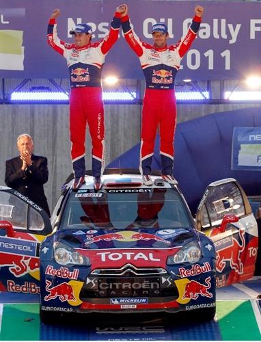 Sebastien Loeb WRC Finland 2011.02
