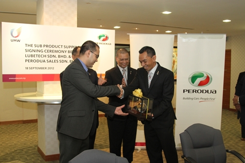 sales and distribution of perodua