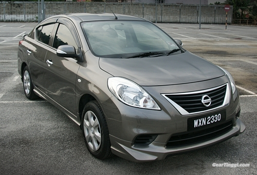 Nissan Almera 2013.10