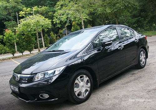 Honda Civic Hybrid 2013.04