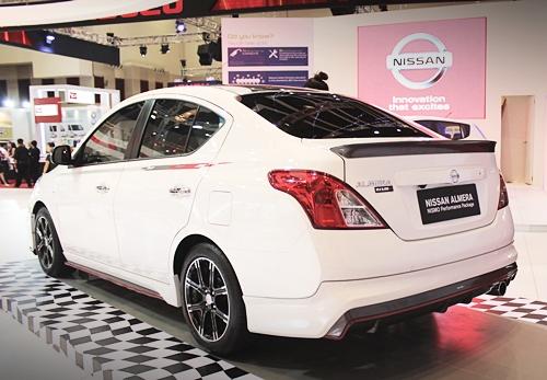 Nissan Almera NISMO ETCM 2013.01