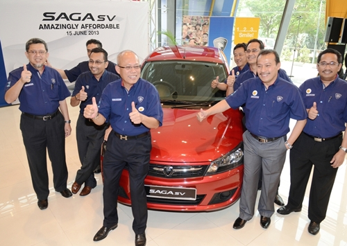 Proton Saga SV 2013