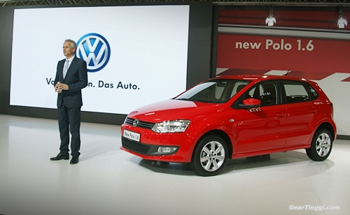 VW Polo 1.6 Hatchback 2013.02
