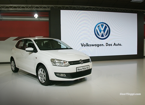 VW Polo 1.6 Hatchback 2013.03