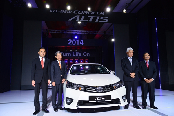 Toyota Corolla Altis 2014.02