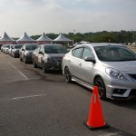 03 Nissan Safety Driving Experience_Cars Line-Up
