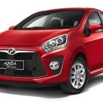 Perodua Axia Advance 2014.09