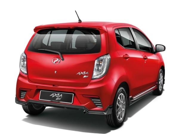 Perodua Axia GearUp 2015.07
