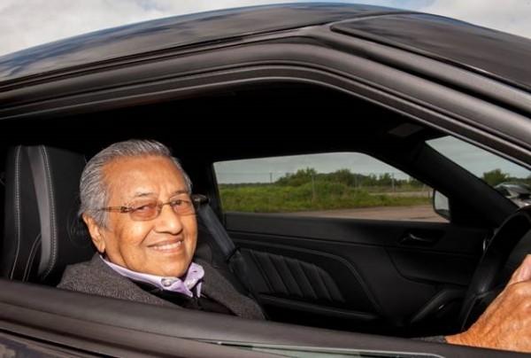 Tun Dr Mahathir Visit To Lotus 2015.02