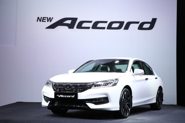 Honda Accord 2016 Facelift