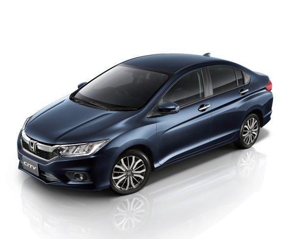 Honda City Thailand Facelift 2017