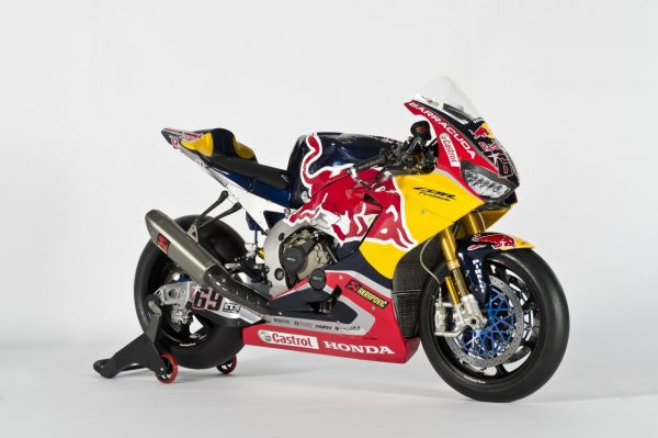 Honda CBR1000RR Fireblade SP2 Red Bull Honda World Superbike Team