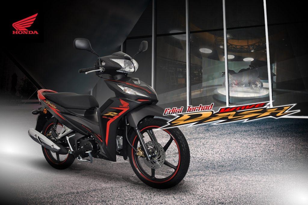 Honda Wave Dash Fi Edisi Terhad kini di pasaran - RM 5.7K dan RM 6.0K