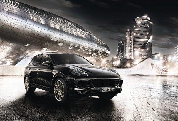 Porsche Cayenne Platinum Edition 2017