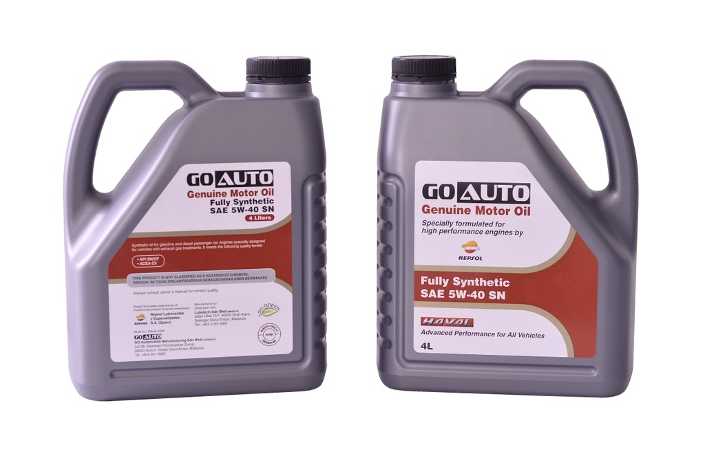 Go Auto Fully Synthetic SAE 5W-40 SN
