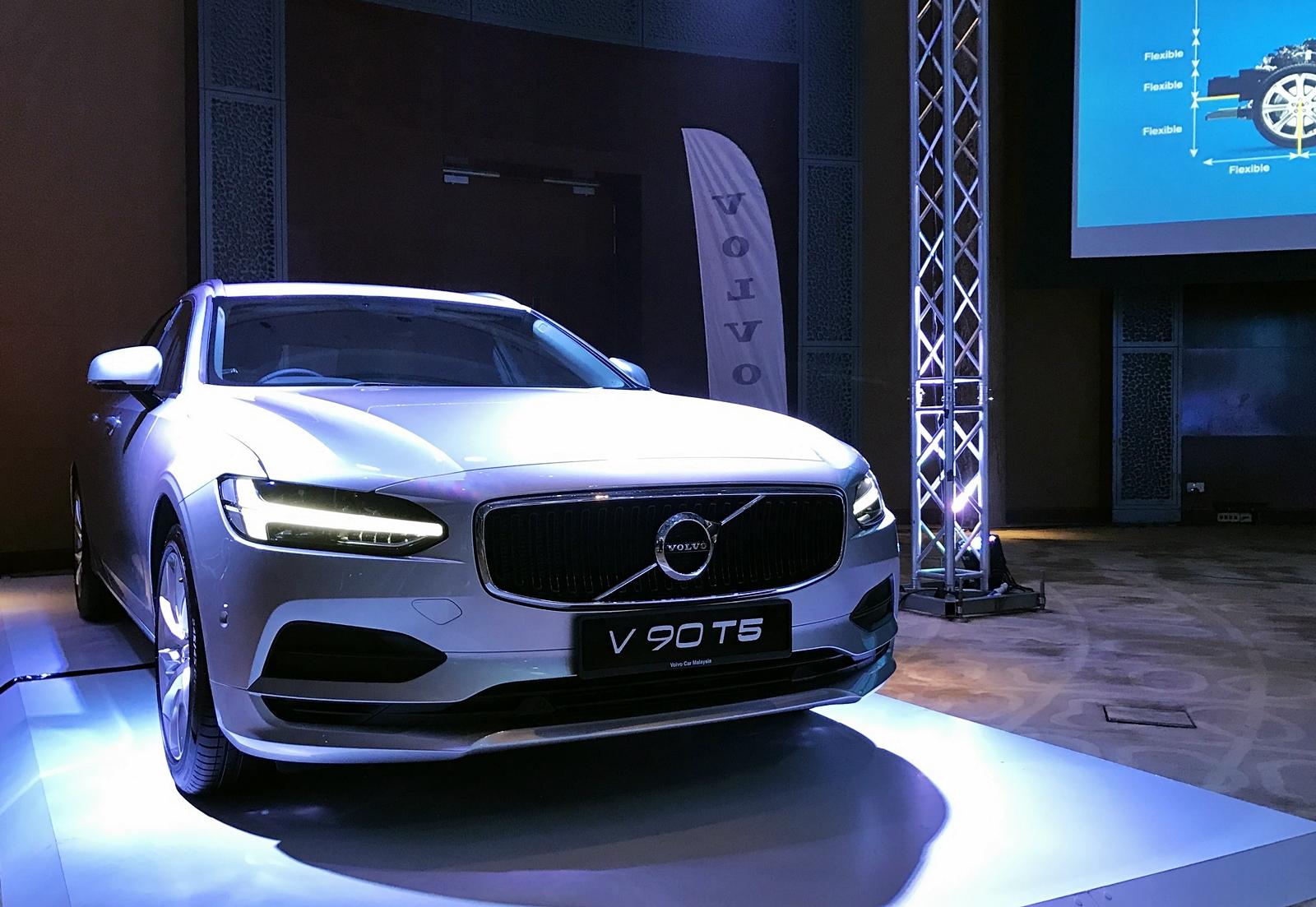 Volvo V90 T5