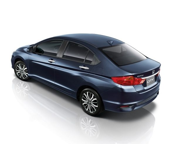 Honda City Thailand Facelift 2017